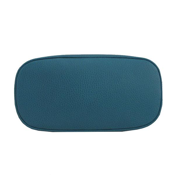 Gucci(구찌) 449661 코발트 블루 컬러 레더 인터로킹 G 참 장식 MINI DORM (미니 돔) 토트백 + 숄더스트랩 [대구반월당본점] 이미지5 - 고이비토 중고명품