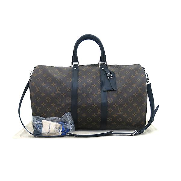 Louis Vuitton(루이비통) M56711 모노그램 캔버스 마카사르 키폴 반둘리에 45 여행용 토트백+숄더 스트랩 2WAY [부산센텀본점]