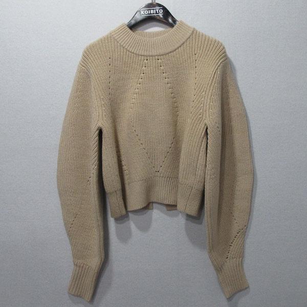 DKNY(도나카란) 울 베이지 컬러 여성용 와플 니트 [대구반월당본점]