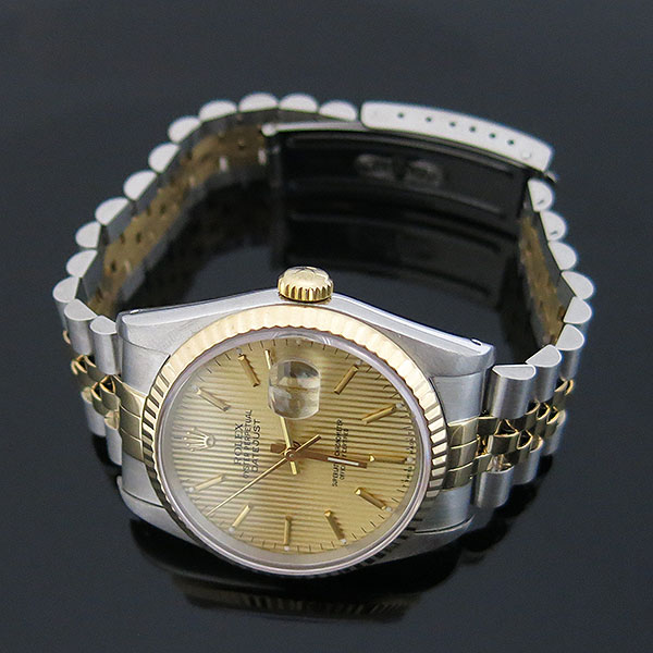 Rolex(로렉스) 16233 DATEJUST 데이트저스트 18K 콤비 스틸 쥬빌레 브레이슬릿 남성용 시계 [대구동성로점] 이미지2 - 고이비토 중고명품