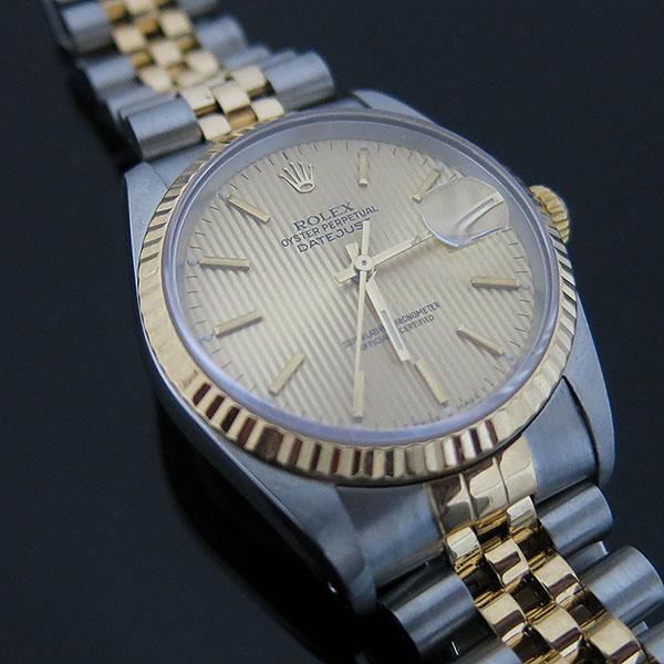 Rolex(로렉스) 16233 DATEJUST 데이트저스트 18K 콤비 스틸 쥬빌레 브레이슬릿 남성용 시계 [대구동성로점] 이미지5 - 고이비토 중고명품