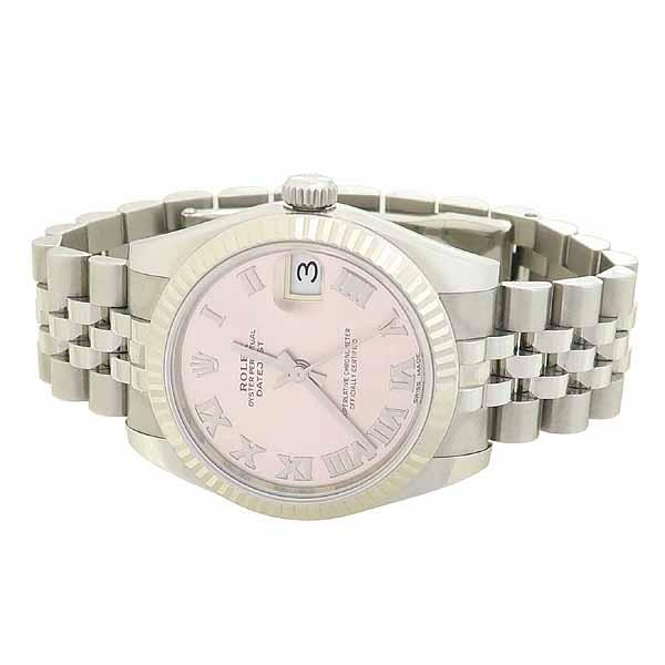 Rolex(로렉스) 178274 DATEJUST 데이트저스트 31MM 10포인트 다이아 핑크 다이얼 스틸 여성용 시계 [강남본점] 이미지2 - 고이비토 중고명품