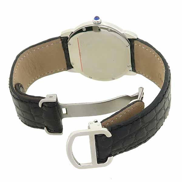 Cartier(까르띠에) W6700255 롱드 솔로 드 까르띠에 L 사이즈 가죽밴드 쿼츠 남성용 시계 [강남본점] 이미지3 - 고이비토 중고명품