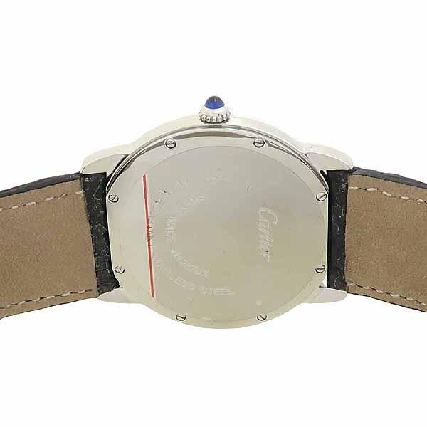 Cartier(까르띠에) W6700255 롱드 솔로 드 까르띠에 L 사이즈 가죽밴드 쿼츠 남성용 시계 [강남본점] 이미지4 - 고이비토 중고명품