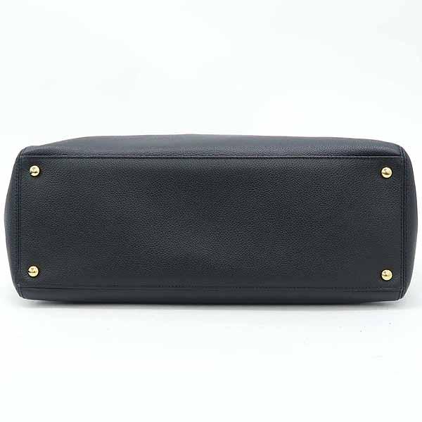 Chanel(샤넬) A15206Y04726 블랙 캐비어스킨 금장 로고 서프 2WAY+보조 파우치 [강남본점] 이미지4 - 고이비토 중고명품