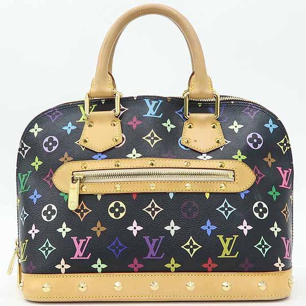 Louis Vuitton(루이비통) M92646 모노그램 멀티 블랙 알마 토트백 [강남본점] 이미지2 - 고이비토 중고명품