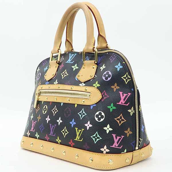 Louis Vuitton(루이비통) M92646 모노그램 멀티 블랙 알마 토트백 [강남본점] 이미지3 - 고이비토 중고명품