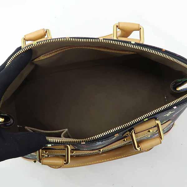 Louis Vuitton(루이비통) M92646 모노그램 멀티 블랙 알마 토트백 [강남본점] 이미지5 - 고이비토 중고명품