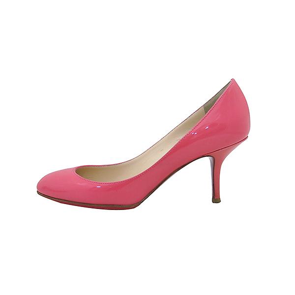 Christian Louboutin (크리스찬루브탱) 핑크 페이던트 펌프스 여성용 구두 [부산센텀본점] 이미지3 - 고이비토 중고명품
