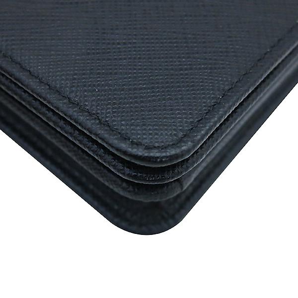 Prada(프라다) 1BP006 SAFFIANO LUX 사피아노 럭스 블랙 컬러 미니 체인 크로스백 [부산센텀본점] 이미지5 - 고이비토 중고명품