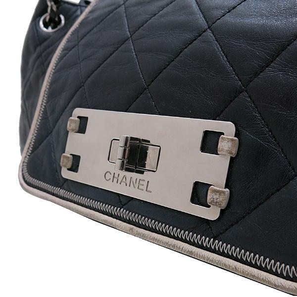 Chanel(샤넬) A37694Y04833 블랙 퀼팅 램스킨 레더 이스트 웨스트 아코디언 체인 숄더백 [인천점] 이미지3 - 고이비토 중고명품