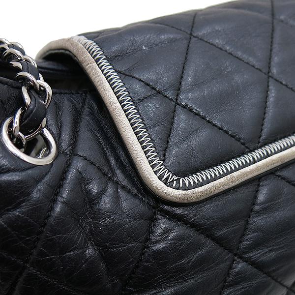 Chanel(샤넬) A37694Y04833 블랙 퀼팅 램스킨 레더 이스트 웨스트 아코디언 체인 숄더백 [인천점] 이미지4 - 고이비토 중고명품