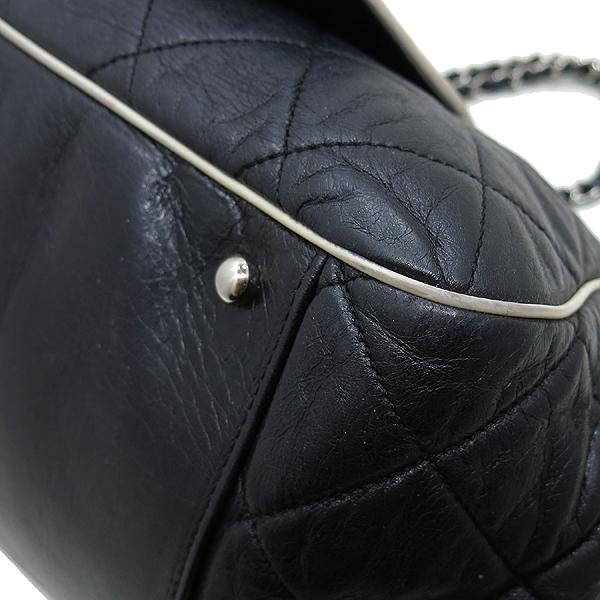Chanel(샤넬) A37694Y04833 블랙 퀼팅 램스킨 레더 이스트 웨스트 아코디언 체인 숄더백 [인천점] 이미지5 - 고이비토 중고명품