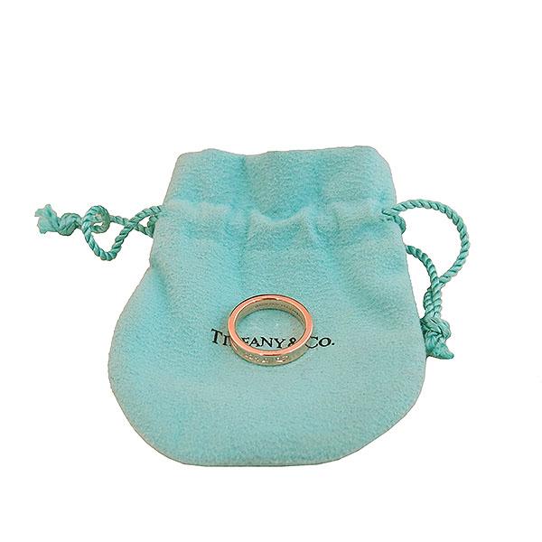 Tiffany(티파니) 핑크 골드 메탈 루베이도™ 네로우 1837™ 밴드 반지 - 10호 [대구동성로점]