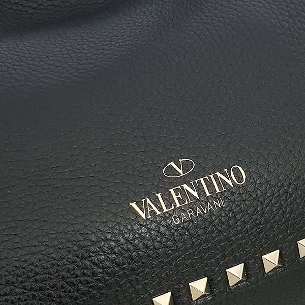 VALENTINO(발렌티노) MW2B0037 블랙 레더 락스터드 금장 장식 S 사이즈 2WAY [동대문점] 이미지4 - 고이비토 중고명품