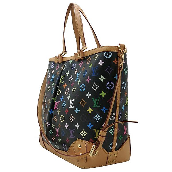 Louis Vuitton(루이비통) M93215 모노그램 블랙 멀티 컬러 캔버스 샤를린 GM 토트백 + 숄더 스트랩 2WAY [인천점]