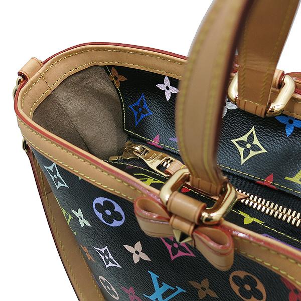 Louis Vuitton(루이비통) M93215 모노그램 블랙 멀티 컬러 캔버스 샤를린 GM 토트백 + 숄더 스트랩 2WAY [인천점] 이미지4 - 고이비토 중고명품
