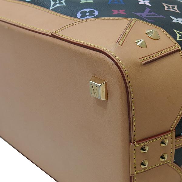 Louis Vuitton(루이비통) M93215 모노그램 블랙 멀티 컬러 캔버스 샤를린 GM 토트백 + 숄더 스트랩 2WAY [인천점] 이미지5 - 고이비토 중고명품