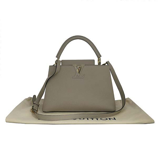 Louis Vuitton(루이비통) M42253 토뤼옹 레더 갈렛 컬러 카푸신(카퓌신) PM 탑핸들 토트백 + 숄더스트랩 [동대문점]