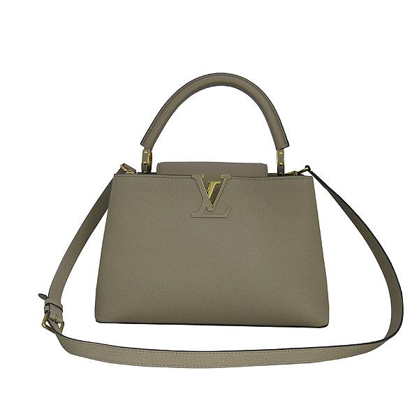 Louis Vuitton(루이비통) M42253 토뤼옹 레더 갈렛 컬러 카푸신(카퓌신) PM 탑핸들 토트백 + 숄더스트랩 [동대문점] 이미지2 - 고이비토 중고명품
