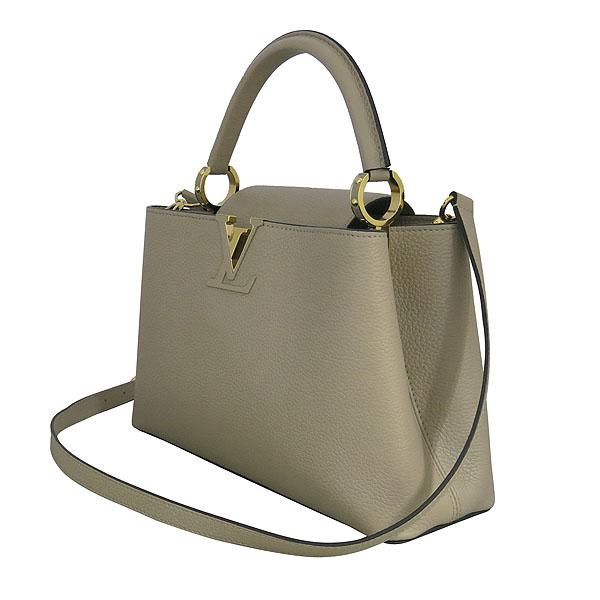 Louis Vuitton(루이비통) M42253 토뤼옹 레더 갈렛 컬러 카푸신(카퓌신) PM 탑핸들 토트백 + 숄더스트랩 [동대문점] 이미지3 - 고이비토 중고명품