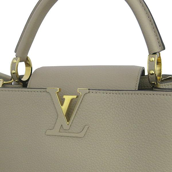 Louis Vuitton(루이비통) M42253 토뤼옹 레더 갈렛 컬러 카푸신(카퓌신) PM 탑핸들 토트백 + 숄더스트랩 [동대문점] 이미지4 - 고이비토 중고명품