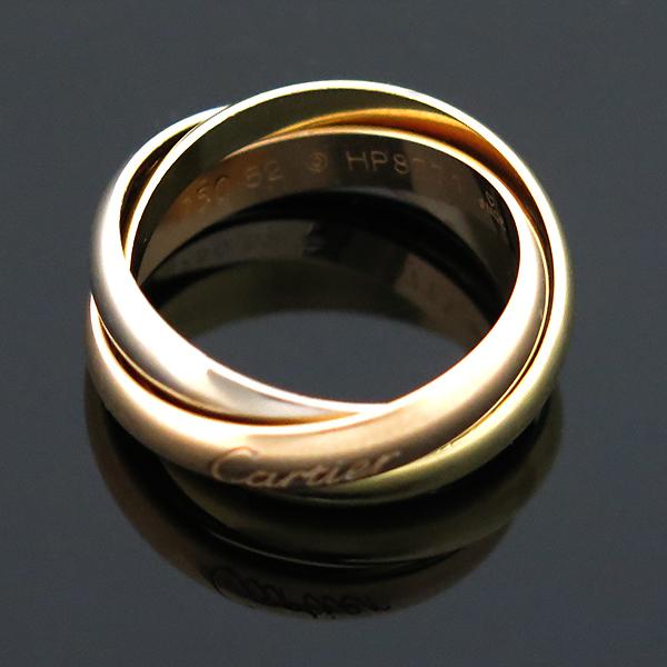 Cartier(까르띠에) B4086154 18K(750) 삼색 골드 트리니티 반지 - 9호 [부산센텀본점]