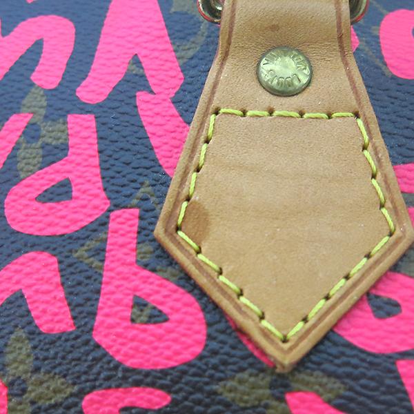 Louis Vuitton(루이비통) M93705 크루즈 라인 모노그램 캔버스 그래피티 스피디30 토트백 [부산센텀본점] 이미지4 - 고이비토 중고명품