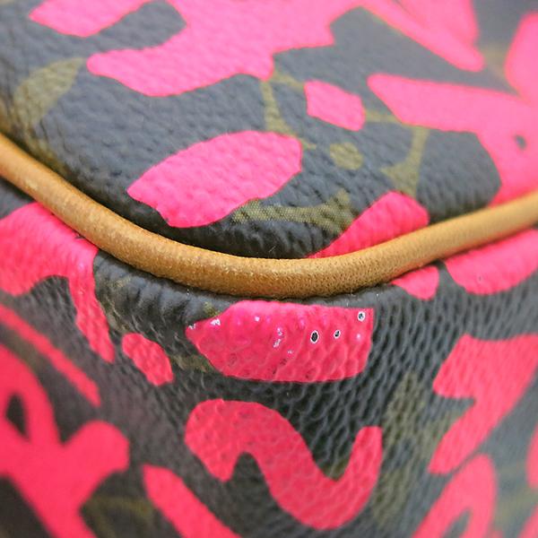 Louis Vuitton(루이비통) M93705 크루즈 라인 모노그램 캔버스 그래피티 스피디30 토트백 [부산센텀본점] 이미지5 - 고이비토 중고명품