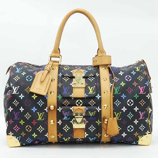 Louis Vuitton(루이비통) M92640 모노그램 멀티 컬러 블랙 키폴45 토트백 [강남본점]