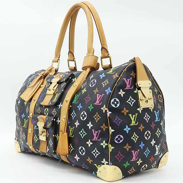 Louis Vuitton(루이비통) M92640 모노그램 멀티 컬러 블랙 키폴45 토트백 [강남본점] 이미지2 - 고이비토 중고명품