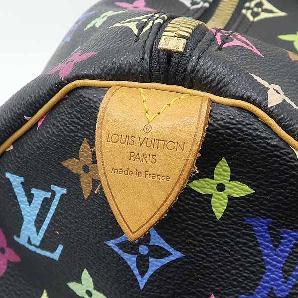 Louis Vuitton(루이비통) M92640 모노그램 멀티 컬러 블랙 키폴45 토트백 [강남본점] 이미지3 - 고이비토 중고명품