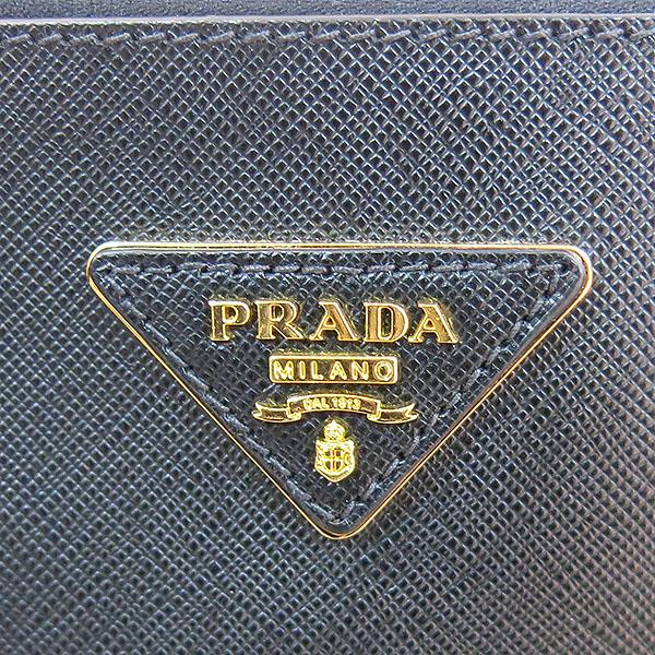 Prada(프라다) BN1802 SAFFIANO LUX (사피아노 럭스) NERO 블랙 레더 금장 로고 토트백 [대구동성로점] 이미지5 - 고이비토 중고명품