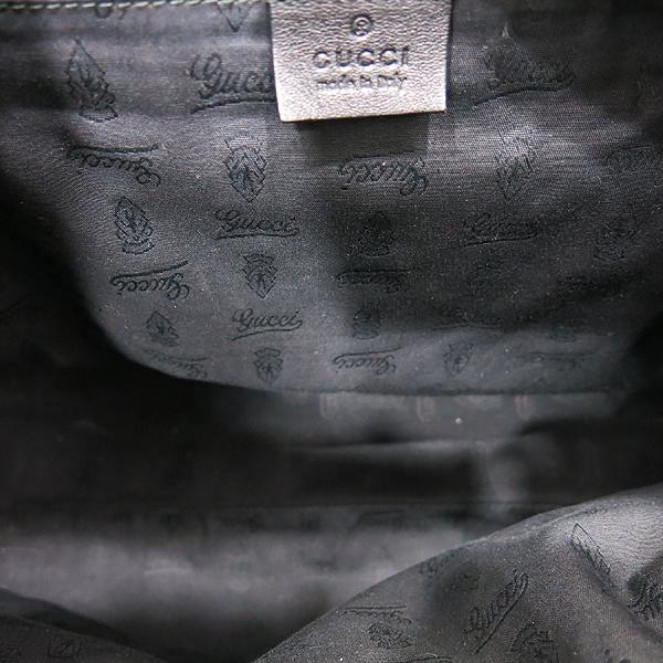 Gucci(구찌) 233604 GG로고 블랙 시마 레더 라이트골드 로고 호보 숄더백 [인천점] 이미지6 - 고이비토 중고명품