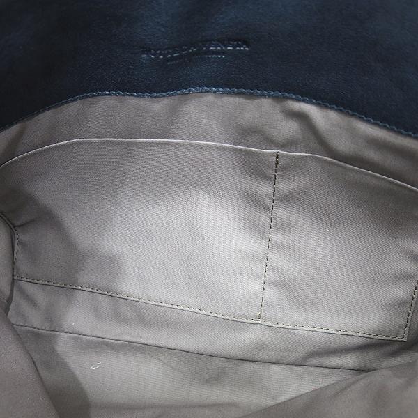 BOTTEGAVENETA (보테가베네타) 224052 블랙 앤 그린 컬러 인트레치아토 도큐먼트 케이스 클러치 [인천점] 이미지6 - 고이비토 중고명품