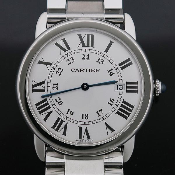 Cartier(까르띠에) W6701005 Ronde Solo de Cartier (론드 솔로) 드 까르띠에 L 사이즈 (36mm) 데이트 스틸 쿼츠 남성용 시계 [인천점] 이미지2 - 고이비토 중고명품