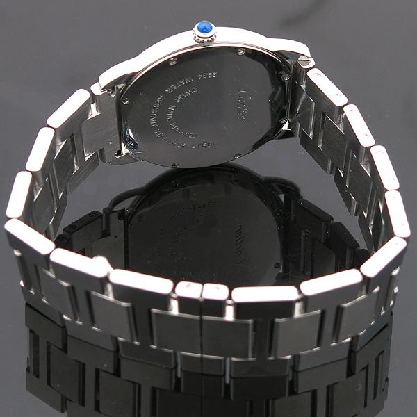 Cartier(까르띠에) W6701005 Ronde Solo de Cartier (론드 솔로) 드 까르띠에 L 사이즈 (36mm) 데이트 스틸 쿼츠 남성용 시계 [인천점] 이미지3 - 고이비토 중고명품