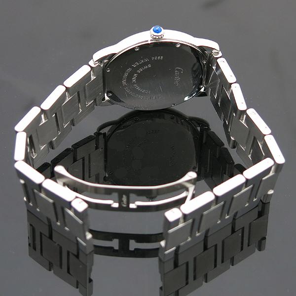 Cartier(까르띠에) W6701005 Ronde Solo de Cartier (론드 솔로) 드 까르띠에 L 사이즈 (36mm) 데이트 스틸 쿼츠 남성용 시계 [인천점] 이미지4 - 고이비토 중고명품
