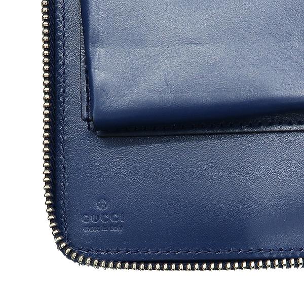 Gucci(구찌) 395474 블루 컬러 DIAMANTE(디아망떼) 레더 클러치 겸 트래블 백 [강남본점] 이미지5 - 고이비토 중고명품