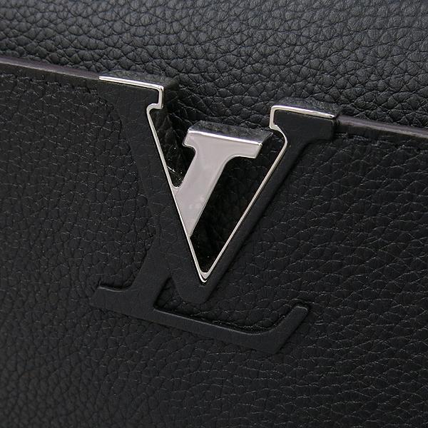 Louis Vuitton(루이비통) M42242 느와르 토뤼옹 레더 카퓌신 PM 탑핸들 토트백 + 숄더스트랩 2WAY [강남본점] 이미지4 - 고이비토 중고명품