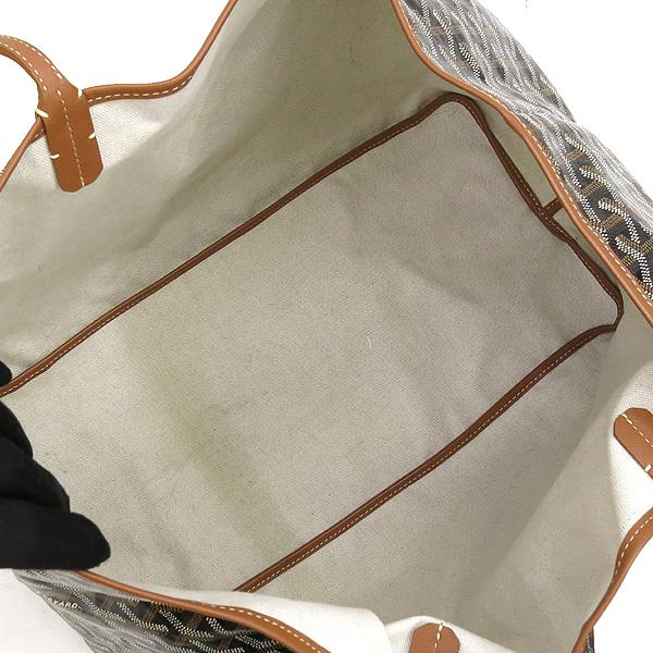 GOYARD(고야드) 블랙 컬러 생루이 GM 숄더백 + 보조 파우치 [강남본점] 이미지5 - 고이비토 중고명품