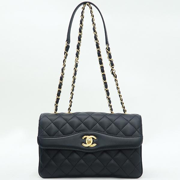 Chanel(샤넬) A57028 크루즈 블랙 램스킨 플랩 체인 숄더백 [강남본점] 이미지2 - 고이비토 중고명품