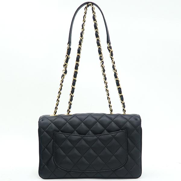 Chanel(샤넬) A57028 크루즈 블랙 램스킨 플랩 체인 숄더백 [강남본점] 이미지4 - 고이비토 중고명품