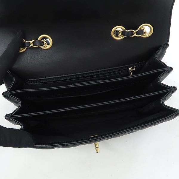 Chanel(샤넬) A57028 크루즈 블랙 램스킨 플랩 체인 숄더백 [강남본점] 이미지5 - 고이비토 중고명품