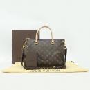 Louis Vuitton(루이비통) M40908 모노그램 캔버스 팔라스 QUETSCHE 토트백 + 숄더 스트랩 [강남본점]