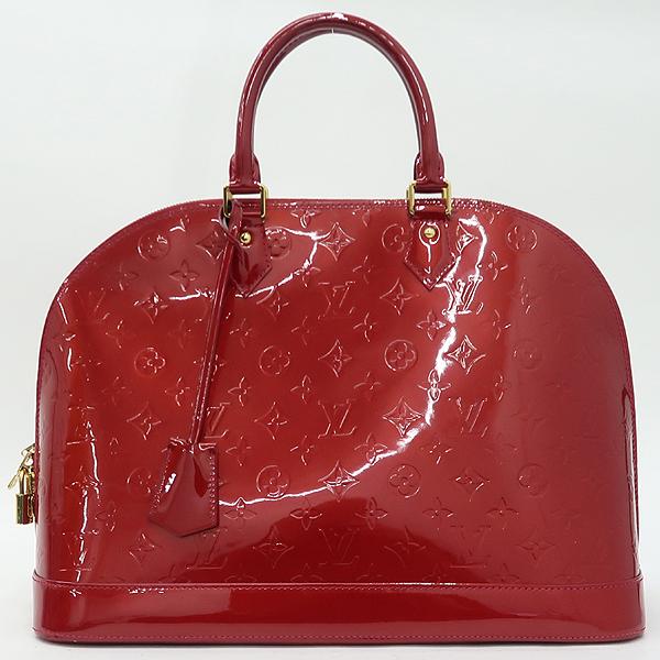 Louis Vuitton(루이비통) M93596 모노그램 베르니 폼다무르 알마 GM 토트백 [강남본점] 이미지2 - 고이비토 중고명품