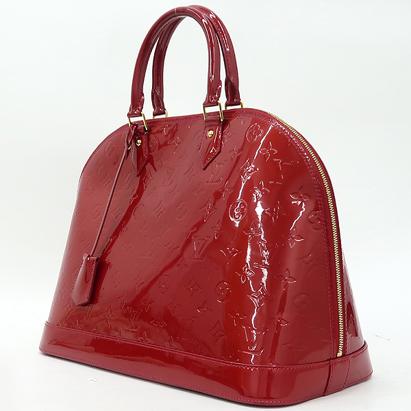 Louis Vuitton(루이비통) M93596 모노그램 베르니 폼다무르 알마 GM 토트백 [강남본점] 이미지3 - 고이비토 중고명품
