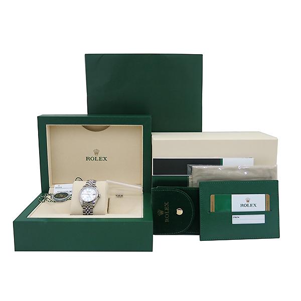 Rolex(로렉스) 신형 279174 DATE JUST(데이저스트) 28mm 12포인트 다이아 자개판 여성용 스틸 시계 [부산센텀본점]