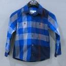 Burberry(버버리) 3975720 CHILDREN(칠드런) 블루 체크 아동용 긴팔 셔츠 - 6Y [부산센텀본점]