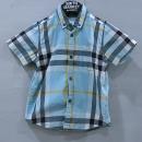 Burberry(버버리) 3969363 체크 아동용 반팔 셔츠 [부산센텀본점]